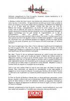 Appel du Front de Gauche de Bordeaux
