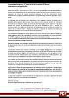 Communiqué de presse // Projet de loi de la ministre El Khomri