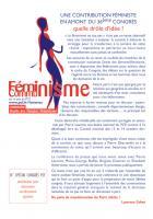 Féminisme - Communisme spécial 36e congrès