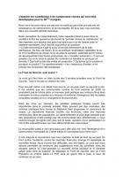 Contribution de Loïc Boisson (Section de Bordeaux)