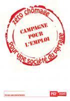 Fiches argumentaire campagne pour l'emploi