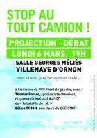 6 mars // Projection-débat sur le frêt ferroviaire
