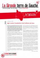 Journal des élus communistes et front de gauche au conseil général de la Gironde