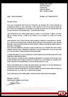 Liberté d'expression //  Courrier à Alain Juppé, Maire de Bordeaux