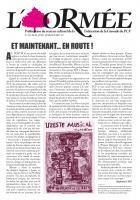 ORMÉE N° 113 // Mai, Juin, Juillet 2017