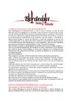 Notre projet pour Bordeaux