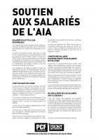 Déclaration du PCF en soutien aux salariés de l'AIA