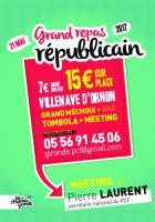 Dimanche 21 mai // Banquet - Meeting de l'Humanité Gironde