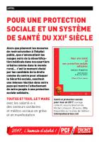 Flyer Protection sociale
