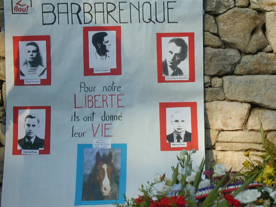 Barbarenque: de la résistance aux combats d'aujourd'hui