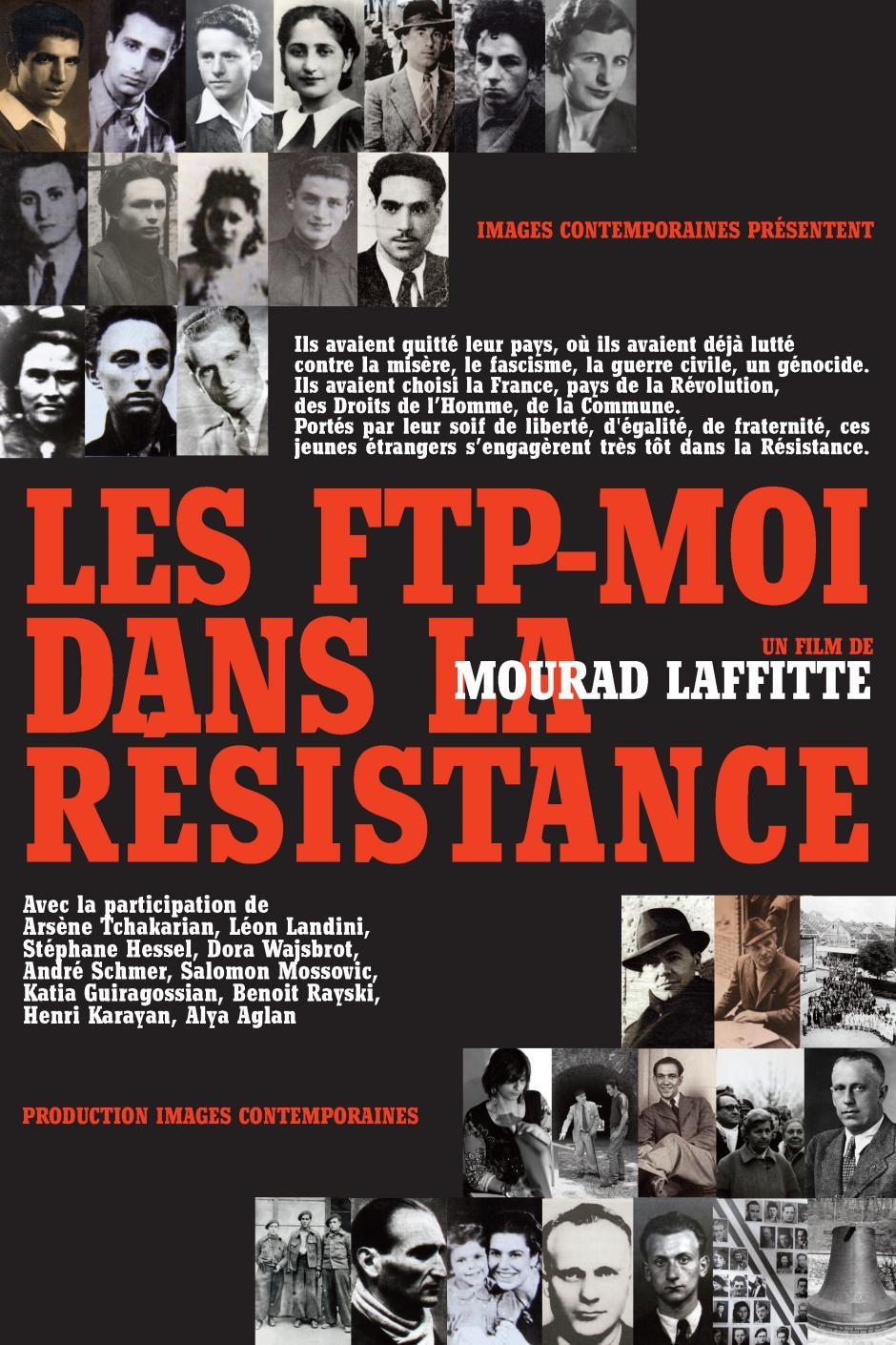 17 novembre, Amiens - Projection du documentaire « Les FTP-MOI dans la Résistance »
