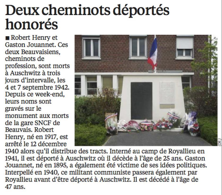 20160426-LeP-Beauvais-Deux cheminots déportés honorés