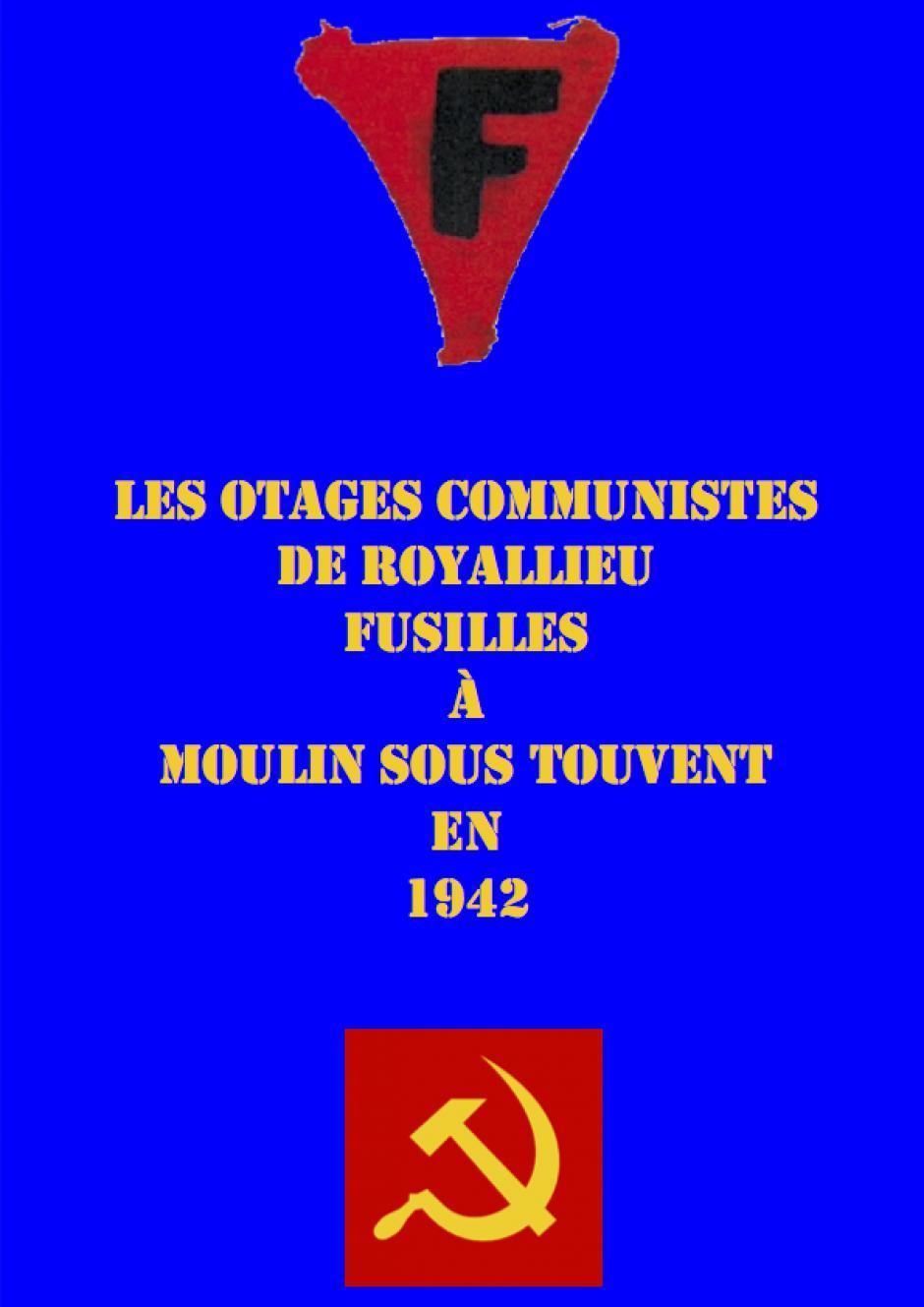 Les otages communistes de Royallieu fusillés à Moulin-sous-Touvent en 1942 - A-Localisation-Monuments existants (document transmis par Jean-Michel Vicaire)