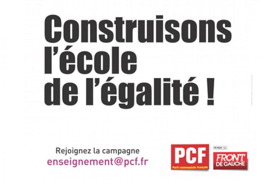 Rythmes scolaires : « Il est encore temps de la concertation, la réforme ne doit pas être bâclée. »