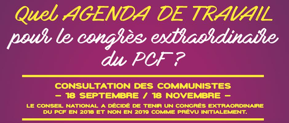 Quel agenda de travail pour le congrès extraordinaire du PCF ?