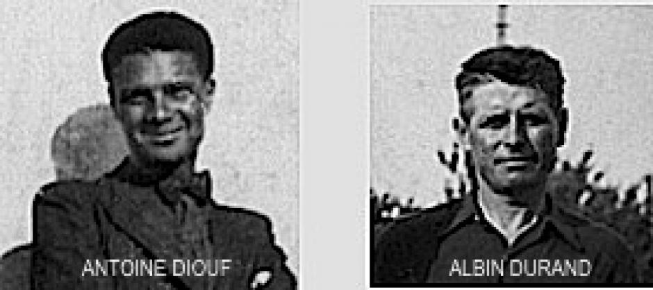 Sarrians, Violès, Malaucène: 1er août 1944 , participons à la commémoration. Appel des Amis d' Antoine Diouf - Albin Durand