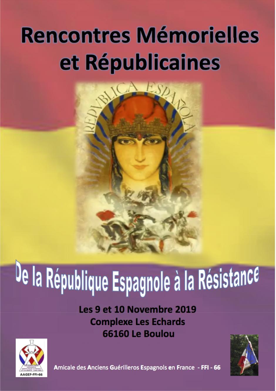 De la République Espagnole à la Résistance