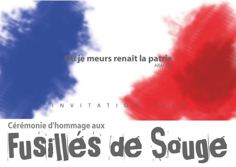 Dimanche 23 octobre - 15h // Cérémonie d'hommage aux fusillés de Souge