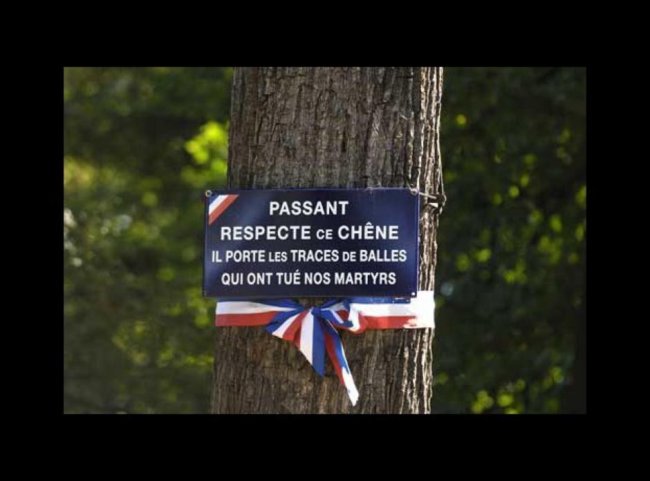 Cascade du Bois de Boulogne : Allocution de Cécile Goutmann
