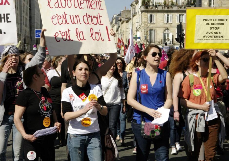 Samedi 1er Février: 14h Manif à Bordeaux- Non à la régression des droits des femmes en Espagne et ailleurs !