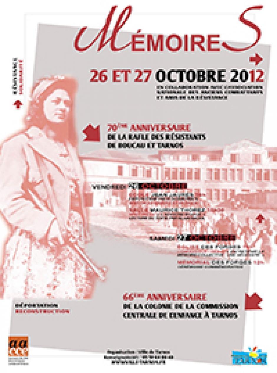 Journée du souvenir de la grande rafle des résistants Boucalais et Tarnosiens