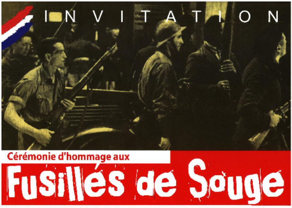 Dimanche 25 octobre - 15h // Cérémonie d'hommage aux fusillés de Souge