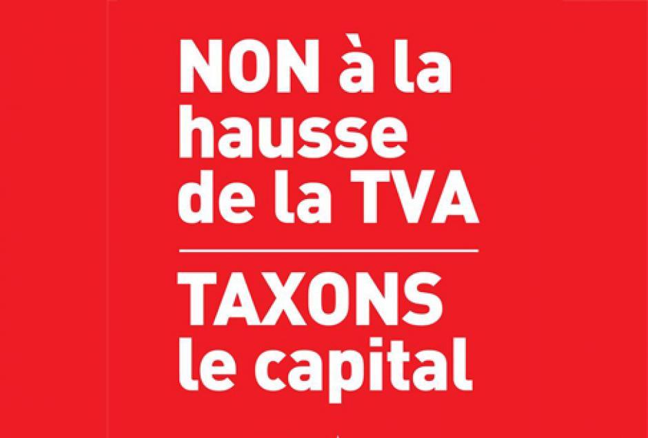 Des centaines de personnes rassemblées contre la hausse de la TVA à Bordeaux