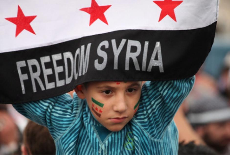 Halte à la guerre, Paix et démocratie en Syrie!