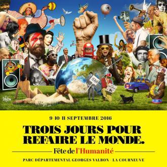 9 - 10 & 11 septembre // Fête de l'Humanité Paris !