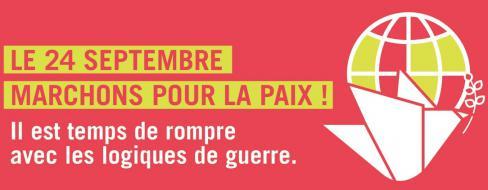24 septembre // Marche pour la Paix