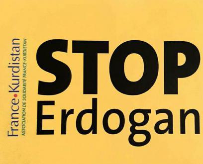 4 novembre // manifestation en soutien aux Kurdes
