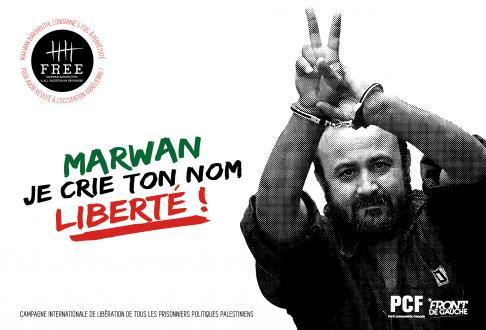«Libérez Marwan Barghouti et tous les prisonniers politiques palestiniens»